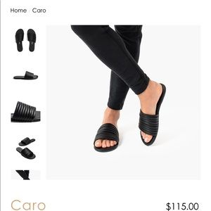 TKEES Caro Black sandal last pair of USA 6 NEW